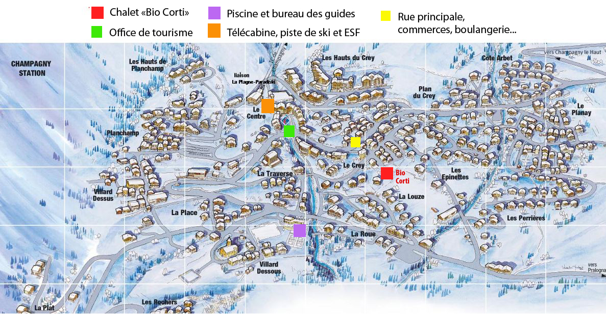 Situation bio corti - Office de tourisme champagny en vanoise ...